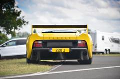XJ220S (Maxime Jouet / El-Astic) Tags: old classic car yellow insane nikon shot picture icon exotic mans le 200 british jaguar nikkor 70 maxime f28 supercar jouet vr d800 elas