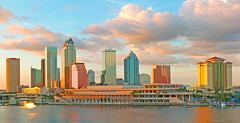 Surreal Downtown Tampa Skyline