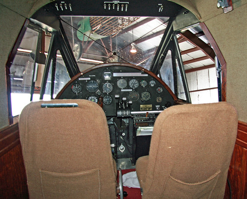 Bellanca CH-400 Skyrocket (NC779W) Cabin and Cockpit