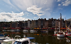 Honfleur (Raph/D) Tags: old city sky house france reflection classic water colors beautiful seine sailboat port canon eos restaurant boat town fishing dock sainte sailing village landmark reflect catherine filter le 7d fisher sail normandie honfleur charming iconic normandy quai catchy calvados peche vieux touristic bassin plaisance polarizing canoneos7d