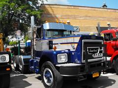 DSCF8691 (gdmey) Tags: transportation trucks brockway huskie vintagetruck truckshow brockwaytruck