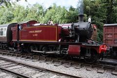 L.150 / 5521 GWR 4575 Class 2-6-2T Small Prairie, Avon Valley Railway, Bitton (Kev Slade Too) Tags: bristol bitton londontransport gwr greatwesternrailway avonvalleyrailway 5521 l150 4575class