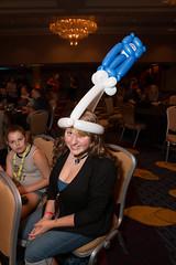 Balloon TARDIS (Courtarro) Tags: atlanta building hotel cosplay event dragoncon marriottmarquis dragoncon2014