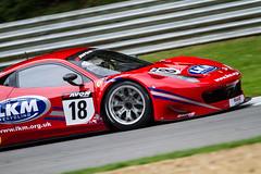 #18 - FF Corse - Ferrari 458 Italia - Gary Eastwood / Adam Carroll @AdamCarroll47  @FFCorse (Steven Roe Images) Tags: cars racing hatch endurance brands brandshatch 2014 britishgt avontyres stevenroeimages