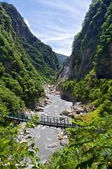 Taroko National Park (kuba!) Tags: china park republic suspension footbridge taiwan national gorge np formosa  taroko