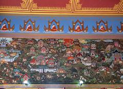 Wat Khao Rang Ubosot Interior Paintings (DTHP0561) วัดเขารัง ภาพวาดตกแต่งภายใน อุโบสถ