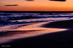 Couch de soleil (Sbastien Breuil) Tags: sunset sea sun mer beauty by sunrise de soleil natural photos ngc national groupe slept couchdesoleil couch saintesmariesdelamer gographic