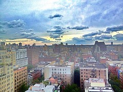 Twilight Manhattan (dannydalypix) Tags: uploaded:by=flickrmobile colorvibefilter flickriosapp:filter=colorvibe