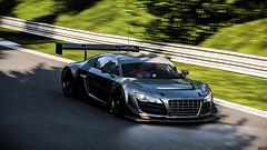 Audi R8 LMS (Gist) Tags: cars car race speed project racing audi endurance corsa r8 24h nordschleife lms nrburgring assetto projectcars