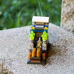 LEGO Cat Temple by Gabriel (evilpeacock) Tags: boy cat toys feline lego kitty blocks fiveyearold gabrielpeacock