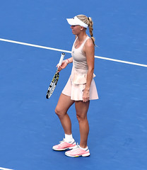 Caroline Wozniacki (AshMarshall) Tags: usa ny queens tennis carolinewozniacki 2014usopentennischampionships