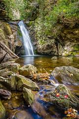 Courthouse Falls (Chilehead Photography) Tags: waterfall waterfalls blueridgemountains blueridgeparkway pisgahnationalforest devilscourthouse courthousefalls shiningrockwilderness blueridgeparkwayphotos