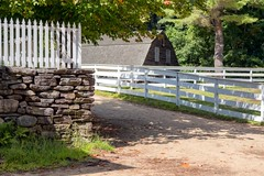 First Fall (DaveLawler) Tags: autumn color fall leaves stone wall fence pentax massachusetts k3 wwwosvorg