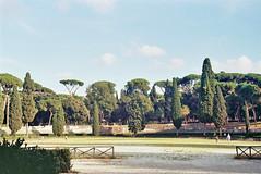 Borgese garden (ruttie.g) Tags: bridge italy sculpture vatican roma art architecture painting cathedral roman baroque pillars obelisque