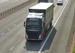 H4071 - KR63 YXS (Cammies Transport Photography) Tags: truck volvo lorry eddie isabella fh darcy flyover esl m74 lockerbie stobart h4071 kr63yxs