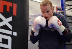 Boxer George Groves days before his fight with Christopher Rebrasse (sophie_merlo) Tags: sport boxing georgegroves
