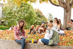 Outdoor classroom (Humboldt State University) Tags: california fall college students review papers arcata peer csu studentlife outdoorclassroom humboldtstateuniversity english104 engl092314025