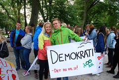 Demokrati -tog, Solborg folkehøgskole