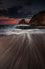 Ilunabarra (BIZKAIA) (Jonatan Alonso) Tags: longexposure sunset seascape clouds landscape nikon bizkaia d300 tokina1116