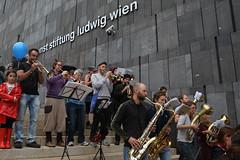 photoset: mumok: Tag der offenen Tür - Musikarbeiterkapelle (14.9.2014)