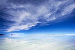 Salt Flats - Salar de Uyuni - Bolivia (tigrić) Tags: travel white southamerica water landscape energy salt bolivia andes saltflats altiplano lithium salardeuyuni southwesttour