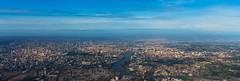 Tiny Little Bangkok (5AAAAM) Tags: city sky bird river airplane landscape thailand landscapes fly nikon asia cityscape view little bangkok pano air wide cityscapes tiny thai scape bkk scapes d600 skyhigh birdeyesview nikond600