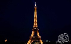 Eiffel Tower (ydchester) Tags: world camera paris france tower night landscape torre eiffel francia