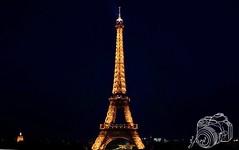 Eiffel Tower (ydchester) Tags: world camera paris france tower night landscape torre eiffel francia