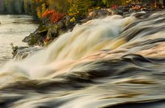 High Falls Autumn-3297ed (RG Rutkay) Tags: autumn ontario fall nature landscape outdoors waterfalls algonquin muskoka highfalls marylake tdpcoutting