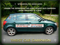 Theist car campaign