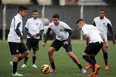 Ybom, Verissimo e Patrick (Santos Futebol Clube) Tags: ct santos fc rei sub20 2015 treino pel