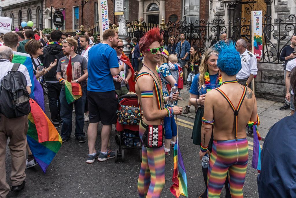DUBLIN 2015 LGBTQ PRIDE PARADE [WERE YOU THERE] REF-106030