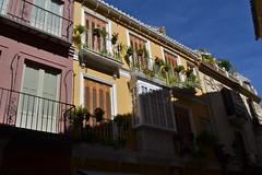 Mlaga (clarasuno) Tags: city houses light plants colour love nikon mlaga