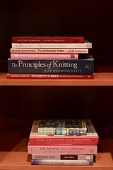 52/365: Reference Library (jchants) Tags: 365the2017edition 3652017 project365 day52365 21feb17 books knittingbooks mylibrary mybooks knittingreferencebooks knittingclassics