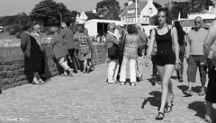 Remember you, it was a summer day (patrick_milan) Tags: noiretblanc blackandwhite noir blanc monochrome nb bw black white street rue people personne gens streetview féminin femal femme woman women girl fille belle beautiful portrait face candide plouguin ploudalmezeau portsall kersaint landunvez landeda lannilis treglonou saintpabu pabu abers finistère brittany bretagne bzh saintrenan renan lanildut aberwrach lampaul plouarzel breles