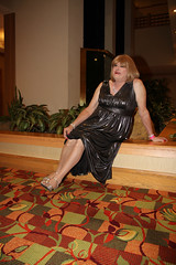 new101822-IMG_8400t (Misscherieamor) Tags: hotel tv sitting feminine cd tgirl transgender mature sissy tranny transvestite gown elegant crossdress ts gurl tg travestis travesti travestie m2f xdresser tgurl