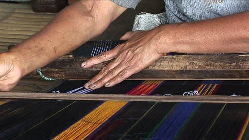 Indonesia - Flores - Traditional Village Bena - Weaving - 21