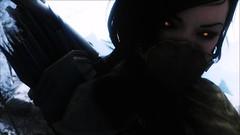 Izabella 3 (Kyerea) Tags: portrait pics vampire scenic screenshots gaming screencap tes showcase vampires nord enb izabella theelderscrolls skyrim tesv theelderscrollsvskyrim volkihar screenarchery grimwinterenb grimwinterredux