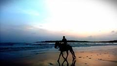 Sunset at Versova beach (keertikeya.gupta) Tags: sunset dusk x idol versova onetouch versovabeach pixlr alacatel alcatelonetouchidolx