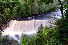 Tahquamenon Falls (eScapes Photo) Tags: waterfall michigan falls upperpeninsula mosquitos tahquamenonfalls michigantahquamenon