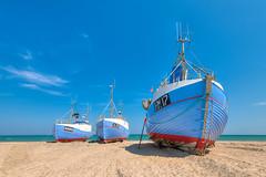Thorup strand (mnielsen9000) Tags: seascape beach landscape boat hdr fishingvessel d600 nordjylland thorup northjutland thorupstrand nikon1635