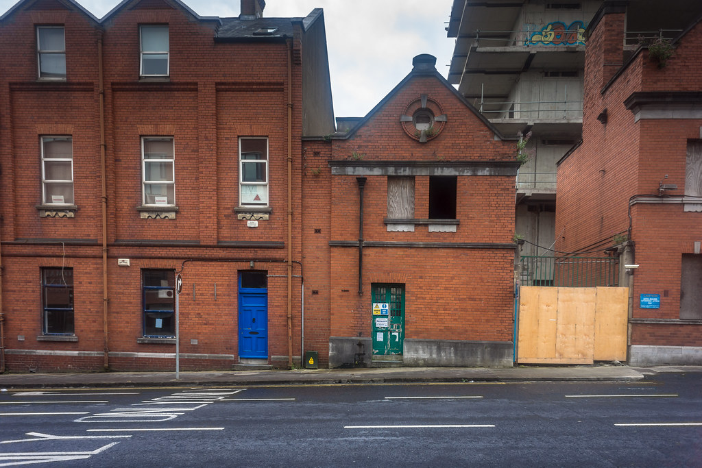 IMAGES FROM THE STREETS OF LIMERICK - URBAN DECAY