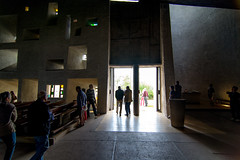 """_DSC4457 (durr-architect) Tags: pilgrimage chapel dame du haut"""" ronchamp france modern architecture corbu corbusier hill renzo piano convent clarisse's order monastic building slope nun residences spiritual retreat oratory visitors centre landscape architect nôtre"""