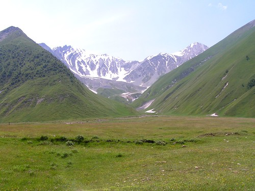 Truso Gorge, High Caucasus Mountains