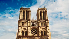 Notre Dame (Antony Zacharias) Tags: light paris window glass statue candles candle cathedral louvre eiffeltower stainedglass notredame gargoyle pontdesarts