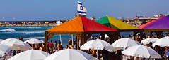 Tel Aviv Pride 2014 44189 (tedeytan) Tags: beach israel telaviv published pride wp rainbowflag tlv hiltonbeach sonye55210mmf4563oss