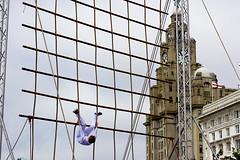 Cadet gymnasts, Riverfest2014, Liverpool (Bosca Fotograf) Tags: england art festival liverpool canon photography aviation maritime dslr tallships mersey merseyside 600d yakovlevs yakovievs riverfest2014