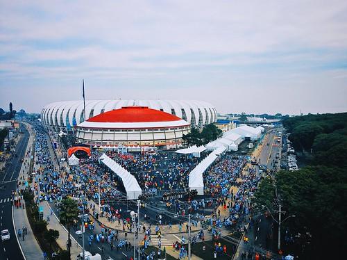 Copa do Mundo 2014 - Estádio Beira-Rio: Argentina x Nigéria
