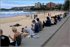 Manly Beach (Peter Heuts) Tags: 2003 new wales canon photography december fotografie south manly sydney australia powershot peter s50 heuts peterheuts