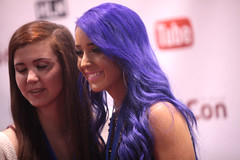 Jenna Marbles (Gage Skidmore) Tags: california jenna center convention marbles anaheim 2014 youtube vidcon